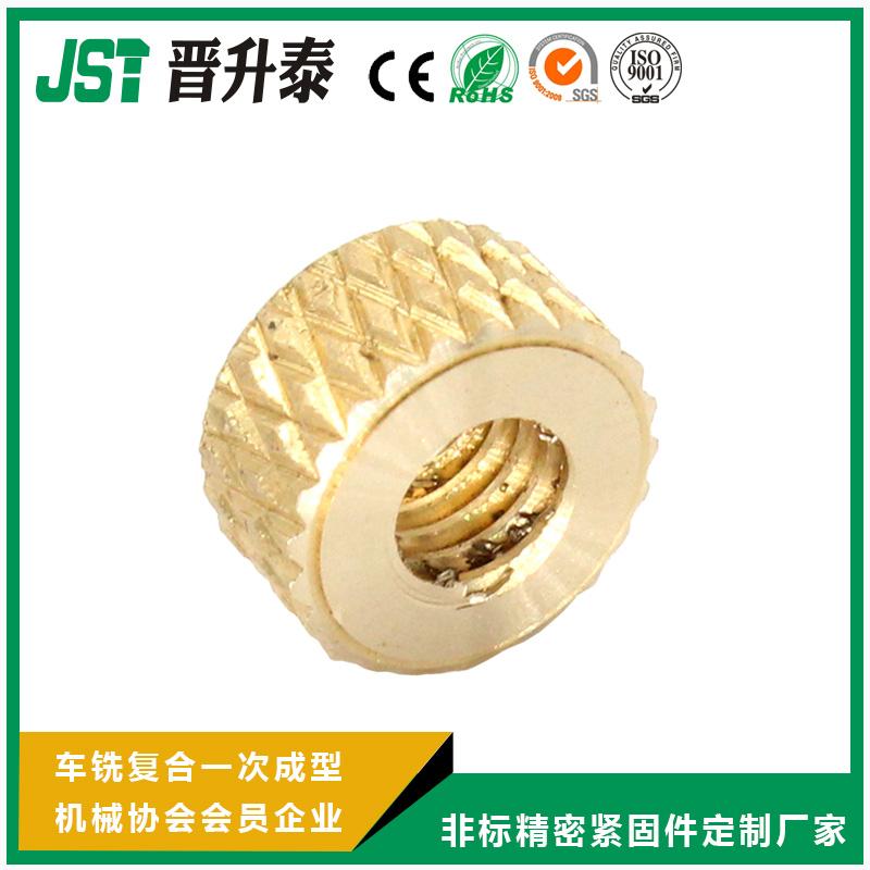 网纹铜螺母