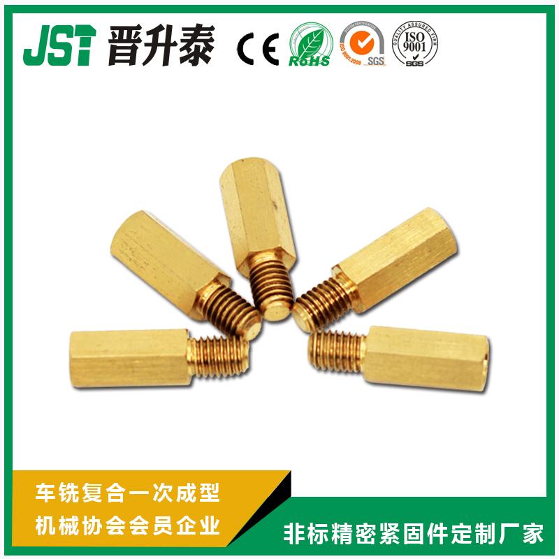 螺柱-一端外螺纹六角铜型